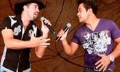 Folder do Evento: Luiz Felipe & Adriano