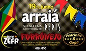 Folder do Evento: Arraiá Forrónejo