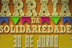Folder do Evento: Arraiá da Solidariedade - Espaço Villa e Faculdade