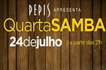 Folder do Evento: Quarta Samba