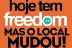 Folder do Evento: Hoje Tem Freedom