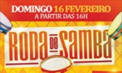 Folder do Evento: RODA DE SAMBA no MR JASPER