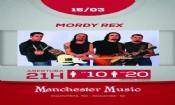 Folder do Evento: Manchester Music - Mordy Rex