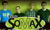 Folder do Evento: Sábado com Banda Somax