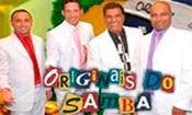 Folder do Evento: Originais do Samba