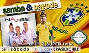 Folder do Evento: Samba & Pagode