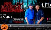 Folder do Evento: Black Halloween a festa