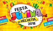 Folder do Evento: Festa Junina de Helvetia 2018