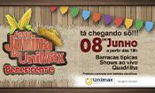 Folder do Evento: Festa Junina da UniMAX
