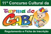 Folder do Evento: 11º Concurso Cultural Turma do Gabi