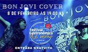 Folder do Evento: BON JOVI COVER NO FESTIVAL GASTRONÔMICO