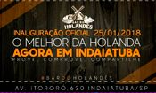 Folder do Evento: Inauguração oficial - Bar do Holandês