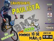 Abertura do campeonato Paulista de BMX.