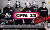 Folder do Evento: CPM22 Turnê Suor e Sacrifíco