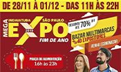 Folder do Evento: Mega Expo Indaiatuba - 28 à 30/11 e 1/12