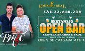 Folder do Evento: Sertanejo Open Bar