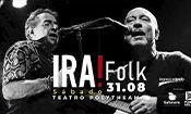 Folder do Evento: IRA! Folk no Teatro Polytheama em Jundia
