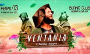 Folder do Evento: Ventania & Banda Hippie em Indaiatuba!