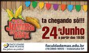 Folder do Evento: Festa Junina da MAX