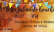 Folder do Evento: Festa Julina do Gaúcho