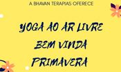 Folder do Evento: Boas Vindas A Primavera - Yoga No Parque
