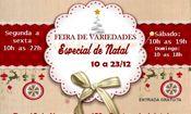 Folder do Evento: Feira de Variedades - Especial de Natal