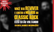 Folder do Evento: Especial Classic Rock no Estação Vargas