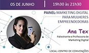 Folder do Evento: Marketing Digital para Mulheres