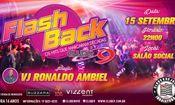 Folder do Evento: Flashback - Clube 9 de Julho