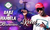 Folder do Evento: BAILE DO MANDELA com MC KEKEL no Presida