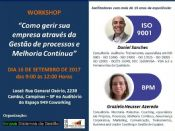 Folder do Evento: Workshop -