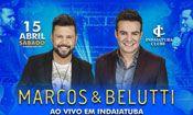 Folder do Evento: Marcos & Belutti Ao Vivo