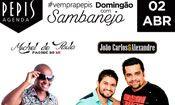 Folder do Evento: DOMINGÃO COM SABANEJO