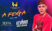 Folder do Evento: A FEXTA - Mc Kevinho