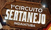 Folder do Evento: 1° Circuito Sertanejo de Indaiatuba
