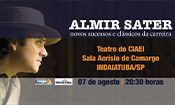 Folder do Evento: Almir Sater em Indaiatuba