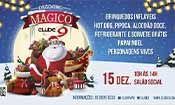 Folder do Evento: Dezembro Mágico no Clube 9