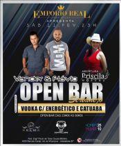 Folder do Evento: Open Bar Sertanejo