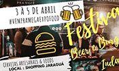 Folder do Evento: Festival Gastronômico Shopping Jaragurá