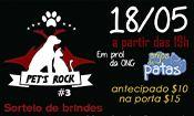 Folder do Evento: Pet's Rock III no Estação Vargas