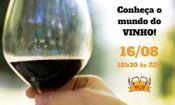 Folder do Evento: Conheça o mundo do vinho!