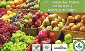Folder do Evento: 6ª Festa das Frutas e Hortaliças