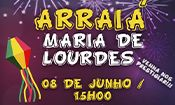 Folder do Evento: Arraiá Maria De Lourdes 2019