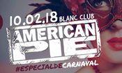 Folder do Evento: American Pie - Blanc Especial de Carnava