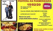 Folder do Evento: Festival Da Parmegiana