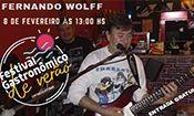 Folder do Evento:  FERNANDO WOLFF NO FESTIVAL GASTRONÔMICO
