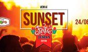 Folder do Evento: Sunset The HOPS - Festa Junina Edition