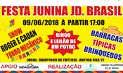 Folder do Evento: Festa Junina Jardin Brasil