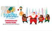 Folder do Evento: Chegada do Papai Noel no Polo Shopping