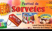 Folder do Evento: Festival De Sorvetes - União para o Bem